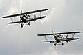 Hawker Demon and Hind formation - 2011 Flying Legends (7252152294).jpg
