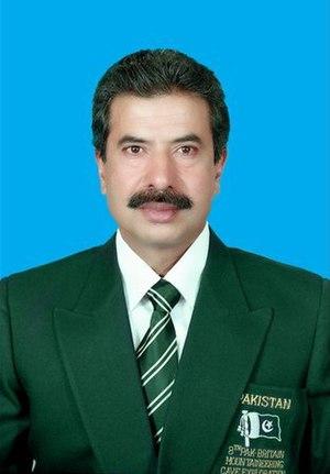 Hayatullah Khan Durrani - Image: Hayatullah Khan Durrani