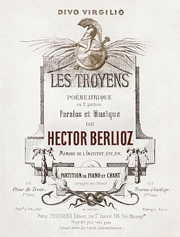 Hector Berlioz, Les Troyens vocal score cover - Restoration.jpg