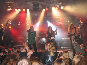 Heidevolk - Heidevolk performing at the 2007 Ragnarök Festival