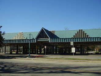 Houston Heights - Heights Transit Center
