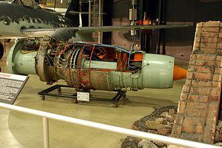 Heinkel HeS 011 German turbojet engine