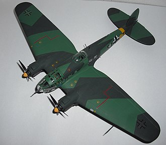Revell - A 1:72 scale Revell Heinkel He 111.