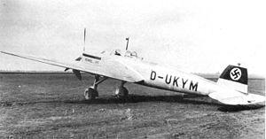 Borduria - Image: Heinkel He 118