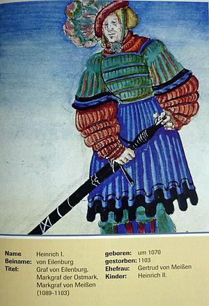 Henry I, Margrave of the Saxon Ostmark - Image: Heinrich Iv Eilenburg