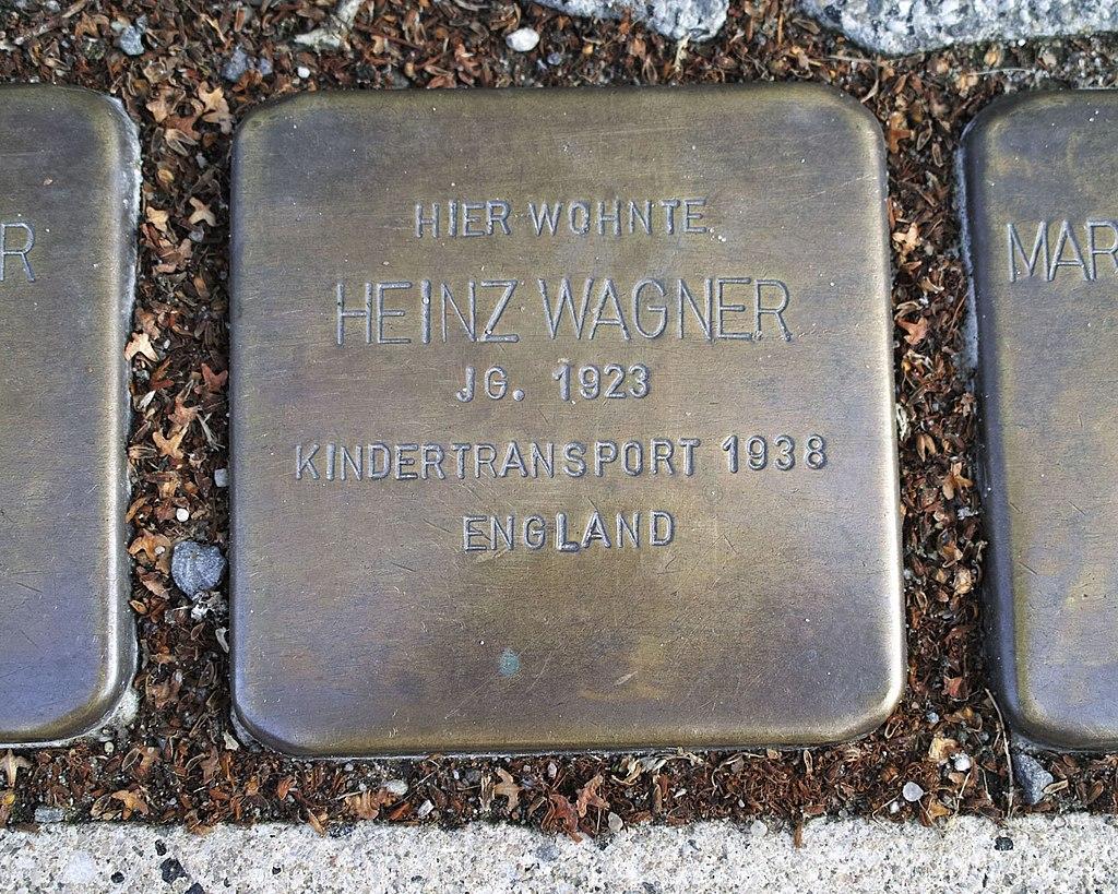 Stolperstein von Heinz Wagner, Anklam