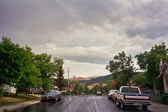 Residential area - Residential area in Helena, Montana, United States