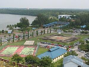 Kuantan River - Image: Helipad at Hospital Tengku Ampuan Afzan