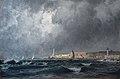 Henri Zuber-Entrée du port de Gênes.jpg