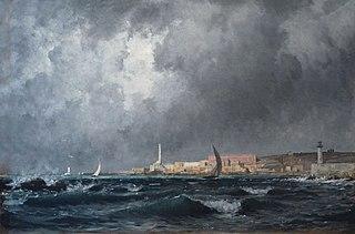 Entrée du port de Gênes