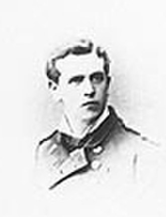 Henry Minett - Midshipman Minett in 1877