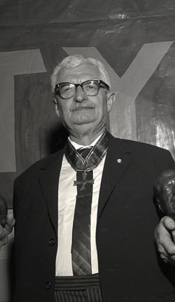 Hermann Oberth 1961-ben