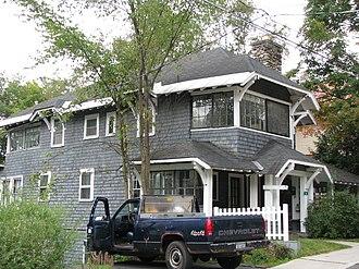 Hill Cottage (Saranac Lake, New York) - Hill Cottage, September 2008