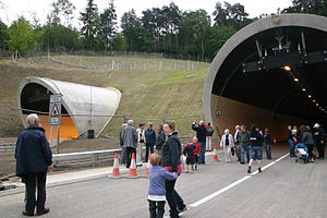 English: Hindhead Tunnel A3 Open Day 14th May ...