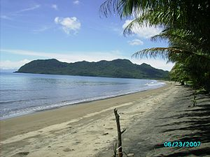 Hinunangan, Southern Leyte - View of Hinunangan Bay from Poblacion