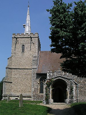 St Mary and St John Church, Hinxton - St Mary and St John