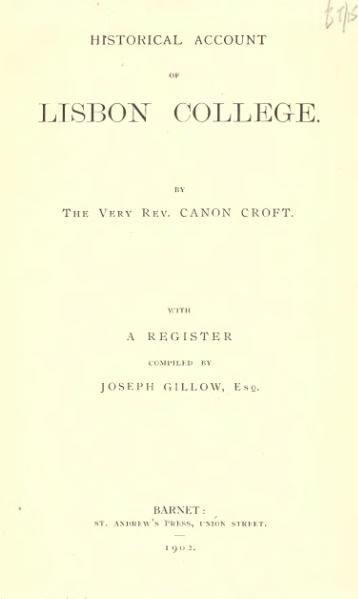 File:Historical account of Lisbon college.djvu