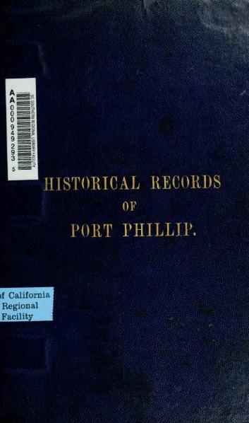 File:Historical records of Port Phillip.djvu