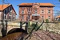 Historische Brücke vor der Wassermühle Meyersiek in Steyerberg IMG 0121.jpg