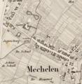 Hof van Oensel op de Maaskaarten (1847).png