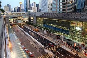 Hong Kong Station - Station exterior (Exit F)
