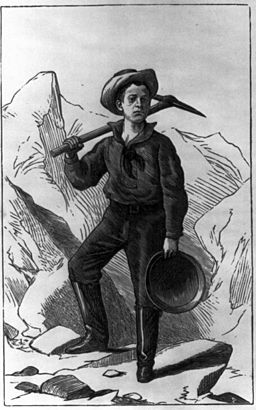 Horatio Alger, The Young Miner cph.3b03708