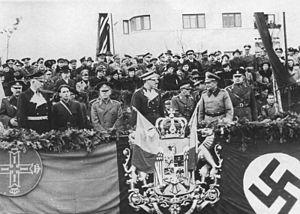 Ion Antonescu - Horia Sima, Antonescu and King Michael I of Romania, 1940