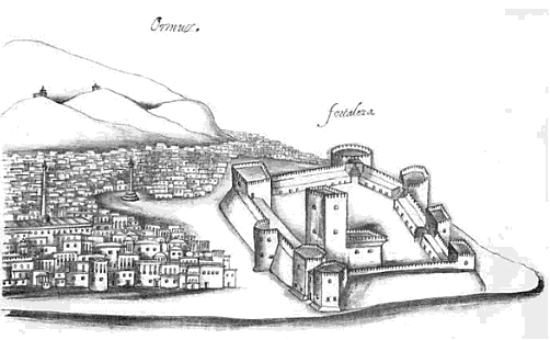 Hormuz fort-Correia