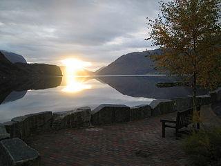 Hornindal Former municipality in Sogn og Fjordane, Norway