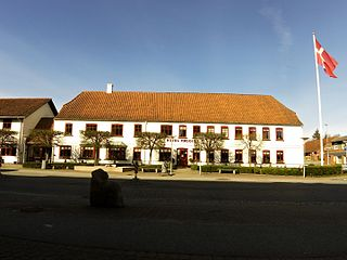 Rødding Place in Region of Southern Denmark, Denmark