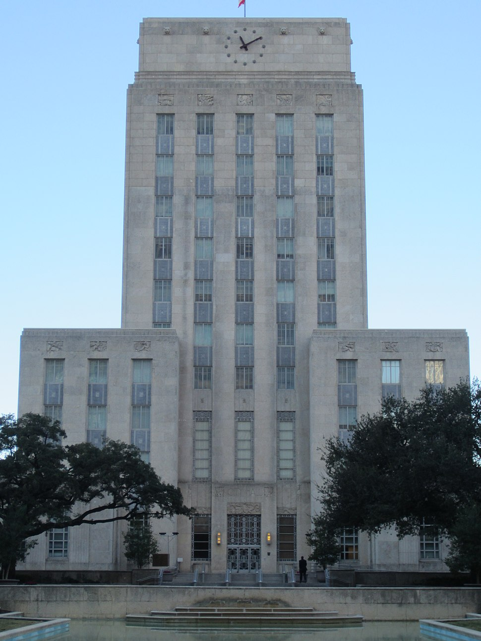 Houston City Hall in January 2012