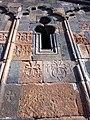 Hovhannavank (cross in wall) (11).jpg