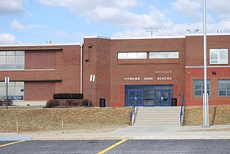 Howard High School (Howard County, Maryland) - Image: Howard HS