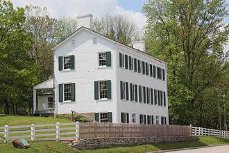 Indiana Landmarks - Image: Huddleston Farmhouse