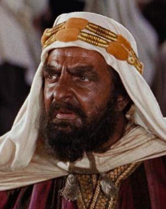 Ben-Hur (1959 film) - Hugh Griffith as Arab Sheik Ilderim