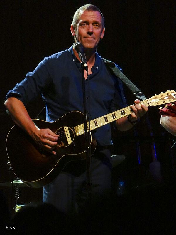 Photo Hugh Laurie via Wikidata