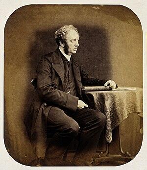 Hugh Welch Diamond - Portrait photograph of Hugh Welch Diamond, 1856.