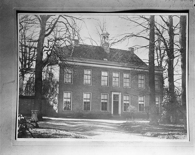 File huis vilsteren exterieur voorzijde repro van oude foto vilsteren 20242531 - Huis exterieur ...
