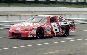 Hut Stricklin - 1997 racecar with Stavola Brothers Racing