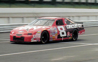 Hut Stricklin - 1997 racecar with Stavola Brothers Racing