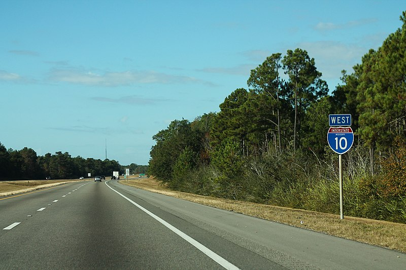 File:I-10 West MS Sign - MM24 (41280230905).jpg