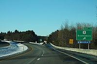 I-91 North VT - Exit 1 - US5 Brattleboro (42233051430).jpg