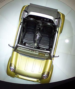 Smart Crosstown - Image: IAA2005 smart crosstown oben