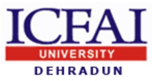 ICFAI University, Dehradun - Image: ICFAI University Logo