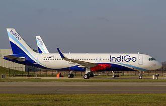 Pratt & Whitney PW1000G - IndiGo A320neo waiting for its engines