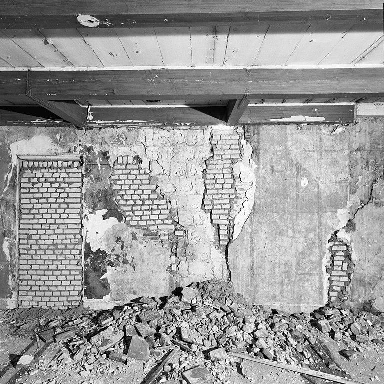 File interieur tweede verdieping kamer rechts muur detail amersfoort 20292538 rce - Muur kamer kind ...
