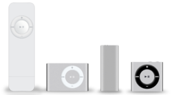 IPod shuffle familly.png