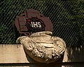I WW Military cemetery 393 Gorka Koscielnicka,(memorial-austrian garrison cap), Krakow,Poland.jpg