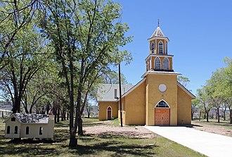 National Register of Historic Places listings in Costilla County, Colorado - Image: Iglesia de la Inmaculada Concepcion