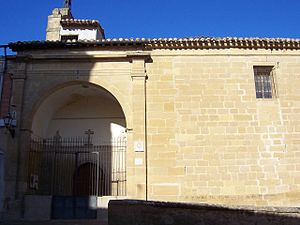 Baños de Rioja - Parish Church of Magdalena